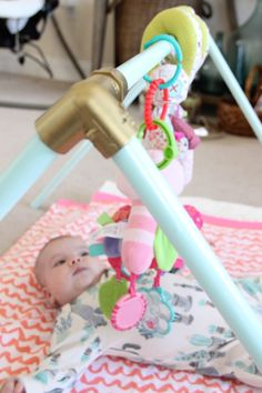 Hill Collection: DIY Baby Activity Gym