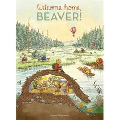 Bibliotheek – Welkom thuis bever Bibliothek Welcome home beaver # Reisen # Bilder Tapas, 1st Grade Books, Different Types Of Animals, Riverside House, Animal Habitats, Learn Art, Animal Books, Nature Center, Kids Boxing