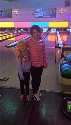 Sisters bowling
