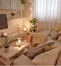 Sala pequena decorada: 70 inspirações e ideias para você! - Dicas Decor