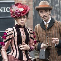 Ripper Street(BBCAmerica):  Rose Erskine and Fred Best   Iconosquare – Instagram webviewer