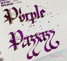 Ink Shot Review Diamine Purple Pazzazz (7)