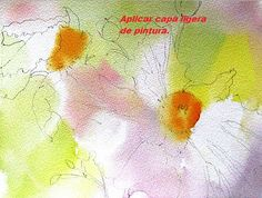 como pintar flores