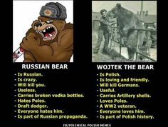 Very Funny Memes, Wtf Funny, Wojtek Bear, Photo To Video, Polish Memes, Weekend Humor, Everything And Nothing, History Memes, Best Funny Pictures