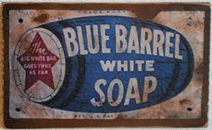 Blues On Shaker Square Primitive Labels, Primitive Signs, Country Primitive, Primitive Decor, Shutter Projects, Savon Soap, Soaps, Primitive Candles, Soap Labels