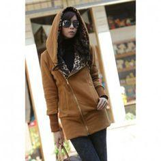 Women s coat light brown one size at price 14 22 dresslily com
