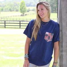 The Olympics are around the corner and we've got you covered for the most patriotic pocket around! Get the Betsy on Deep Sea today  #fraternitycollection #America