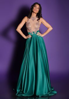 Bien Savvy - Rochii de seara - I LOVE ME 2016 - Rochie de Seara 2016 I Love Hope Fabulous Dresses, Beautiful Dresses, Evening Dresses, Prom Dresses, Formal Dresses, Dream Prom, Green Satin, Satin Dresses, Silk Satin