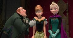 Do you know the name of every character in Frozen? Find out: #FROZEN #ELSA #ANNA #OLAF #KRISTOFF