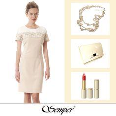 #shoponline #fashion #dress #elegantclothing #outfit #fashion #springfashion #wedding #beige #nude #light #elegant #elegance