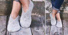 Innetofflor med spets – sticka själv! | Allas.se Free Knitting, Knitting Patterns, Knit Crochet, Slippers, Knits, Crocheting, Shawl, Christmas, Blog