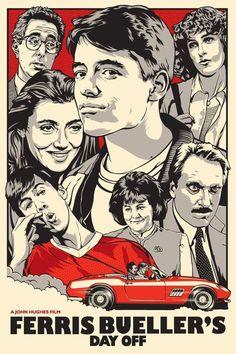 Ferris Bueller's Day Off .... Love this movie