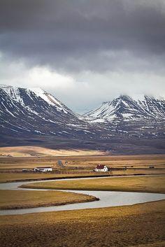 Varmahlid, Iceland - Travel inspiration and places to visit - Places To Travel, Places To See, Travel Things, Travel Stuff, Beautiful World, Beautiful Places, Places Around The World, Around The Worlds, Iceland Travel