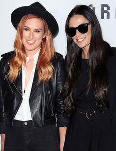 Demi Moore and Rumer Willis  - Redbook.com