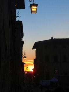 Arezzo - Sunset