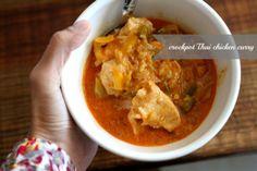 crockpot Thai chicken curry | foodloveswriting.com