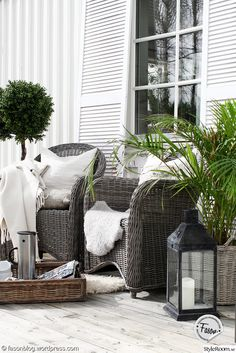 konstrotting,fåtölj,jalusi,buxbom,bricka,artwood,ljuslykta,altan,veranda,trädgård