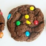 Double Chocolate M Cookies