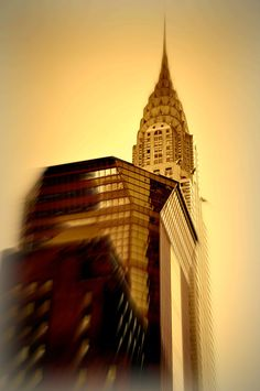 Chrysler Building New York City 2011 16x24 Canvas by jonvangilder, $150.00