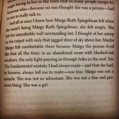 If I have a daughter, her name will be margo, after margo in paper towns