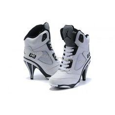 ////  Best Nike Air Jordan 5 White Grey High Heels For Womens Factory Online  http://www.nikeheelsforwomens8.com