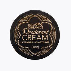 deodorant cream | lulu organics