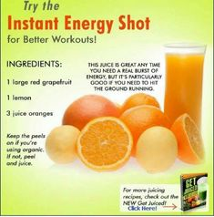 The Instant Energy Shot For Workouts! Try The Instant Energy Shot For Workouts!Try The Instant Energy Shot For Workouts! Healthy Juice Recipes, Juicer Recipes, Healthy Juices, Healthy Smoothies, Healthy Drinks, Energy Juice Recipes, Detox Recipes, Homemade Smoothies, Detox Juices