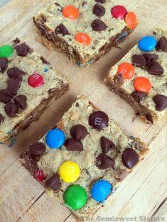 Monster Cookie Bars