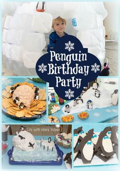 Life with Moore Babies: Penguin Birthday Party