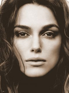 Kiera knightley is beautiful. and she really is a great actress