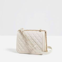 c1163dc5af Image 7 of QUILTED CROSSBODY BAG from Zara Crossbody Bag
