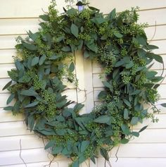 Eucalypt wreath - Beautiful alternative for Christmas for those in the southern hemisphere.
