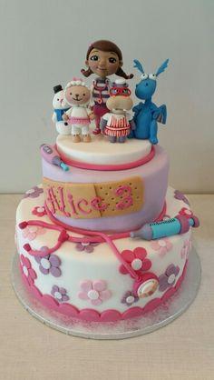 Dottoressa peluche cake