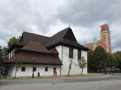 Alte evanielische Kirche.