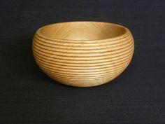 Atelier du Bois Tourné / Woodturning Design: Bol cordé en Cerisier