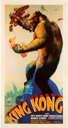 fay wray & king kong (they got caught in a celluloid jam)