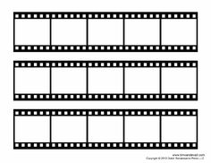Free film strip templates for your photo collages and movie posters. Print these blank film strip templates. Learn how to add your photos in Photoshop. Movie Reels, Film Reels, Bujo, Collage Foto, Poster Collage, Collage Collage, Kino Box, Polaroid Template, Photo Collage Template