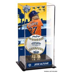 Jose Altuve Houston Astros Fanatics Authentic 2016 MLB All-Star Game Sublimated Display Case with Gold Glove Holder - $49.99