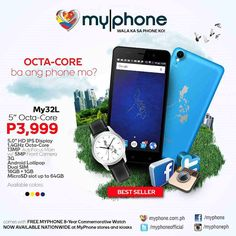 MyPhone my32L a 5-inch Octa-core Phone For Just Php 3999