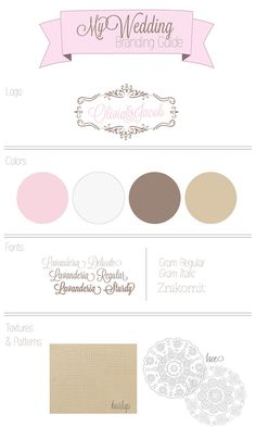 my wedding branding guide :) Logo Inspiration, Wedding Branding, Brand Guide, Textures Patterns, Branding Design, Eyeshadow, Wedding Ideas, Color, Laundry Room