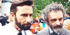 Factoseintolerant: Every day with David is heaven on earth. // I got to do that with Michael Sheen who is an actor Ive always admired and a human being I like hugely. Amazon Prime Original Series, John Mcdonald, Angel Show, Michael Sheen, Angels And Demons, David Tennant, Heaven On Earth, It Cast, Actors