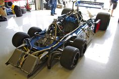 Tyrrell P34 with it's skin off