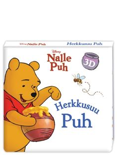 Nalle Puh: Herkkusuu Puh -näyttämökirjassa etsitään hunajaa Puhin kanssa.  Alhaalta ylöspäin aukeavaa kirjaa on hauska lukea, 5 aukeamaa. Winnie The Pooh, Disney Characters, Fictional Characters, Winnie The Pooh Ears, Fantasy Characters, Pooh Bear