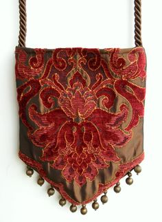 Gypsy Bag with Brass Beads