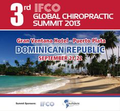www.IFCOchiro.org  Mark your calendars now Sept 21 & 22.... Join the IFCO in the Dominican Republic Get ready to ROCK the Caribbean with TIC!