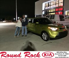 Congratulations to Randall Parkman on your #Kia #Soul purchase from Todd Estes at Round Rock Kia! #NewCar
