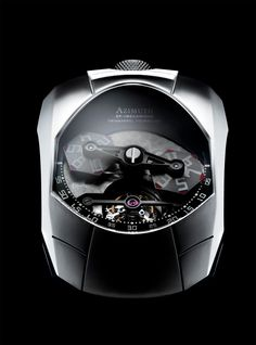 Azimuth Twin Barrel Tourbillon Watch #Watch