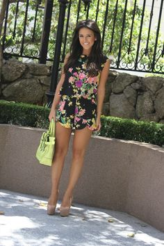 Floral with green!