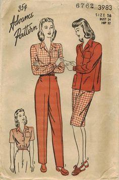 ADORED VINTAGE: 1930s Vintage Sewing Patterns