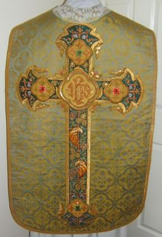 antique latin chasuble - Google Search